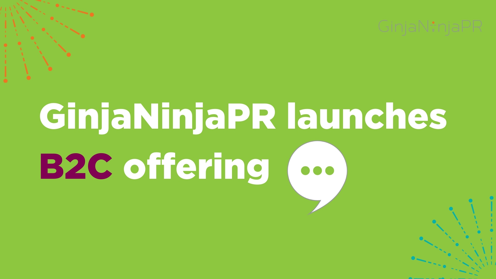 GinjaNinjaPR launches B2C offering