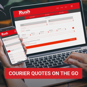 courier quotes on the go
